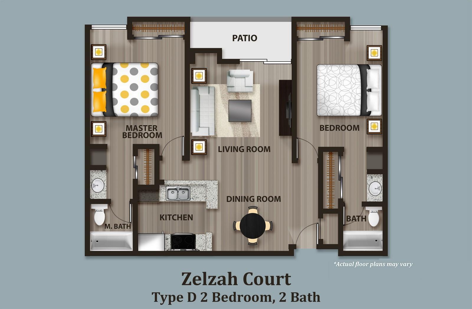 Zelzah Court Apartments