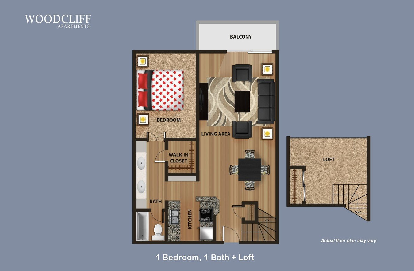 1 Bedroom 1 Bathroom Apartment for rent at Woodcliff in Los Angeles, CA
