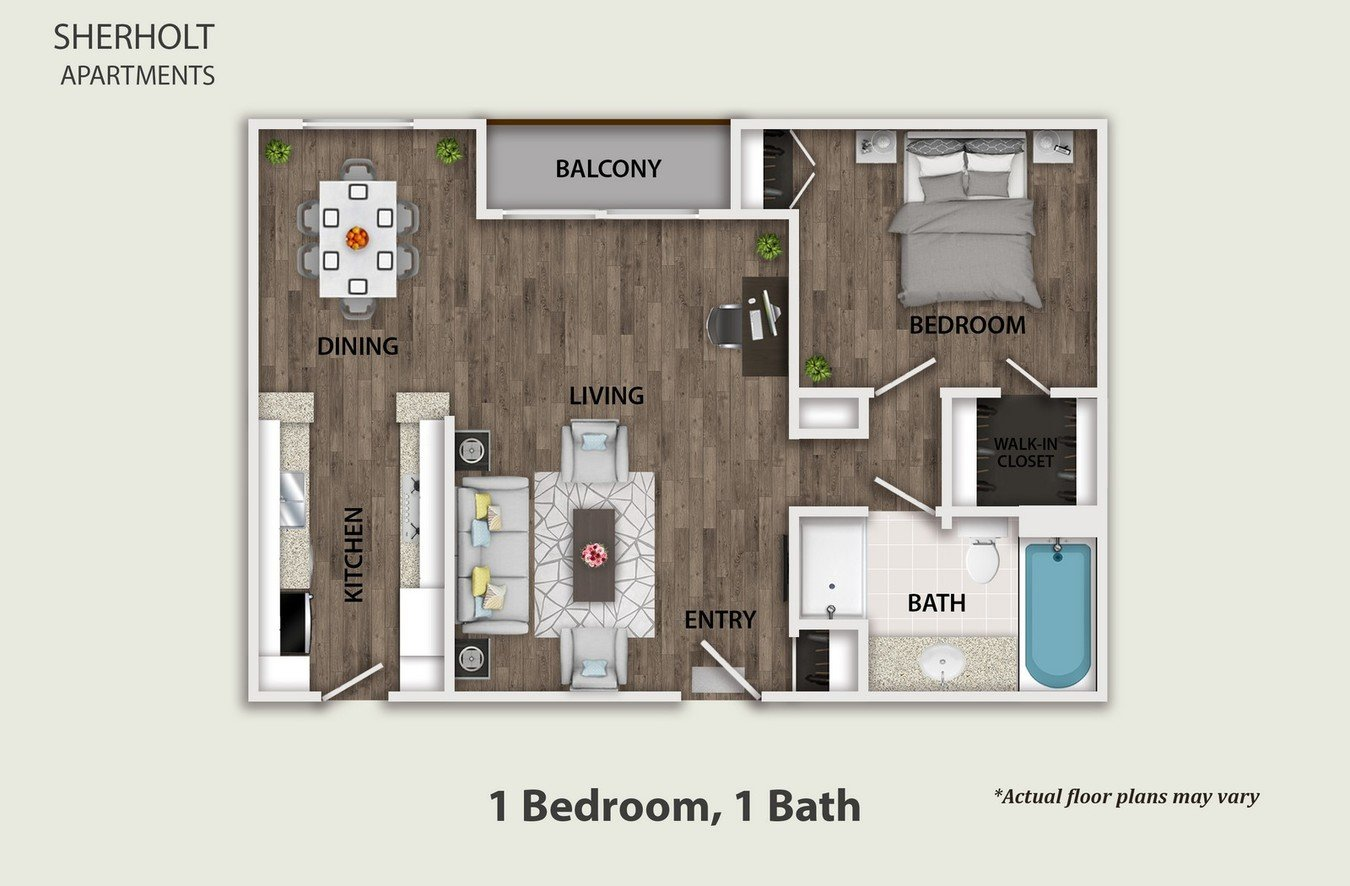 1 Bedroom 1 Bathroom Apartment for rent at Sherholt in Los Angeles, CA