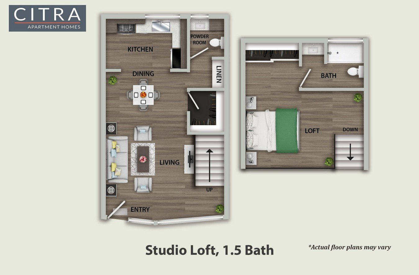 1 Bedroom 1 Bathroom Apartment for rent at Citra Apartments in Burbank, CA