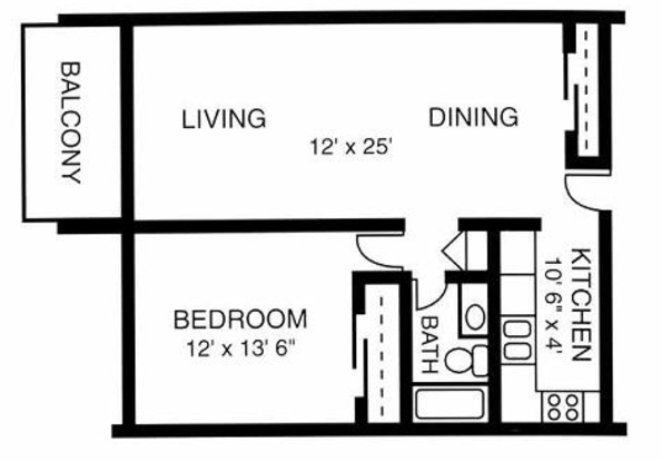 1 Bedroom 1 Bathroom Apartment for rent at Windover Apartments in Knoxville, TN