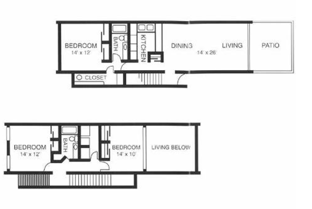 3 Bedrooms 2 Bathrooms Apartment for rent at Windover Apartments in Knoxville, TN
