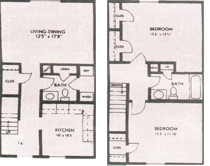 2 Bedrooms 2 Bathrooms Apartment for rent at Faronia Square in Memphis, TN