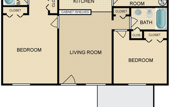 Similar Apartment at The Canyon & Knox Landing