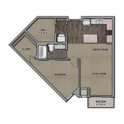 1 Bedroom 1 Bathroom Apartment for rent at One Southdale Place in Edina, MN