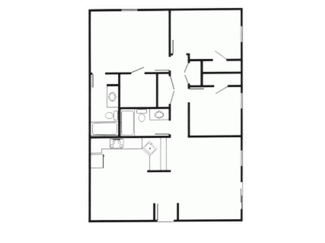 3 Bedrooms 2 Bathrooms Apartment for rent at Royal Orleans Apartments in Birmingham, AL