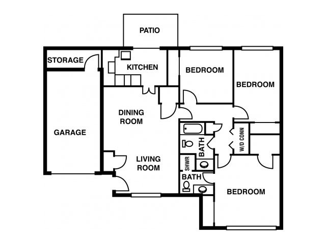 3 Bedrooms 2 Bathrooms Apartment for rent at Timberchase in Birmingham, AL