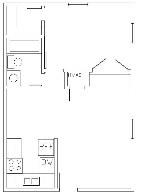 1 Bedroom 1 Bathroom Apartment for rent at Southridge Apartments in Birmingham, AL