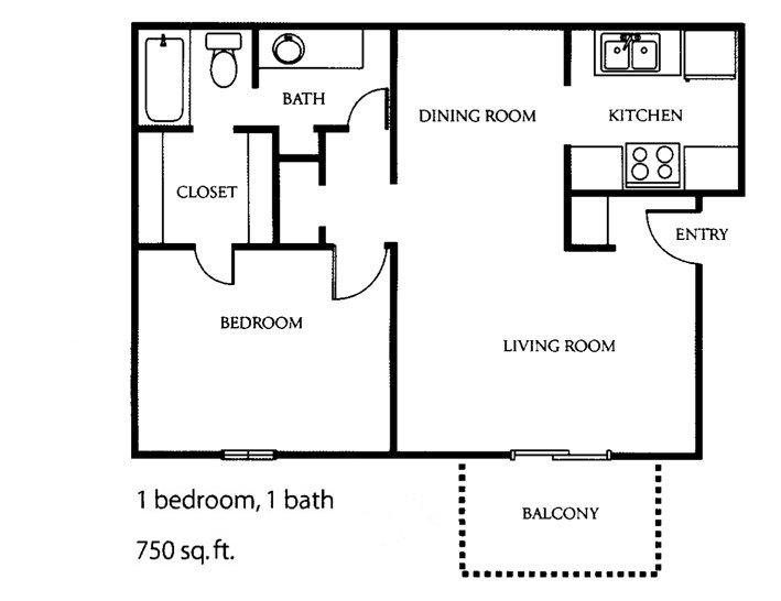 1 Bedroom 1 Bathroom Apartment for rent at The Park At Alloa in Birmingham, AL