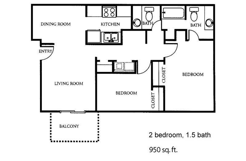 2 Bedrooms 2 Bathrooms Apartment for rent at The Park At Alloa in Birmingham, AL