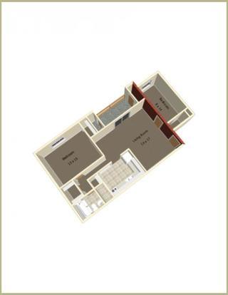 2 Bedrooms 1 Bathroom Apartment for rent at Hunter Ridge in Bloomington, IN