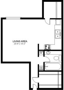 Studio 1 Bathroom Apartment for rent at Walden Woods in St Louis Park, MN