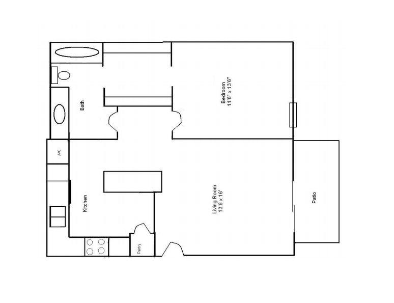 1 Bedroom 1 Bathroom Apartment for rent at Westlake Apartments in Bessemer, AL
