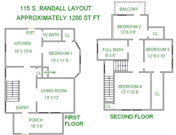 5 Bedrooms 3 Bathrooms House for rent at 115 S Randall Ave in Madison, WI