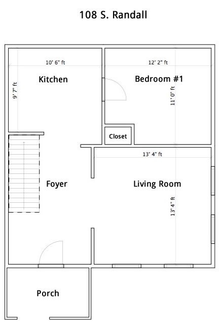 4 Bedrooms 2 Bathrooms House for rent at 108 S Randall Ave in Madison, WI