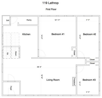 6 Bedrooms 2 Bathrooms House for rent at 119 Lathrop St in Madison, WI