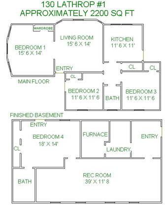 4 Bedrooms 2 Bathrooms House for rent at 130 Lathrop Street in Madison, WI