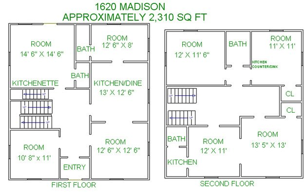 7 Bedrooms 4+ Bathrooms House for rent at 1620 Madison Street in Madison, WI