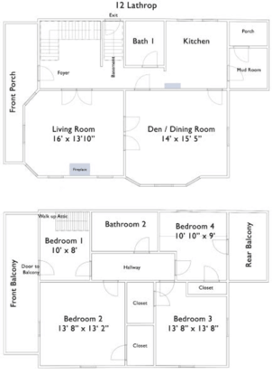 6 Bedrooms 3 Bathrooms House for rent at 12 Lathrop Street in Madison, WI
