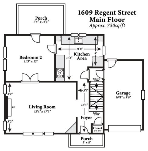 5 Bedrooms 2 Bathrooms House for rent at 1609 Regent Street in Madison, WI