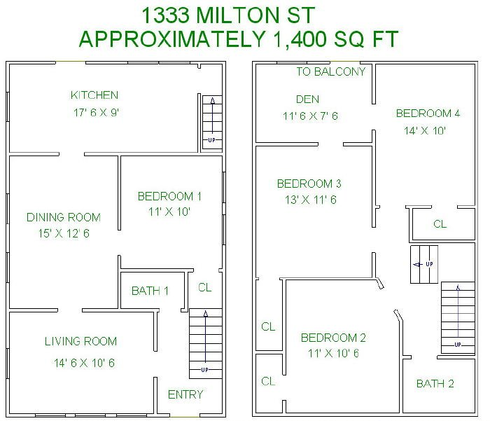 5 Bedrooms 2 Bathrooms House for rent at 1333 Milton Street in Madison, WI