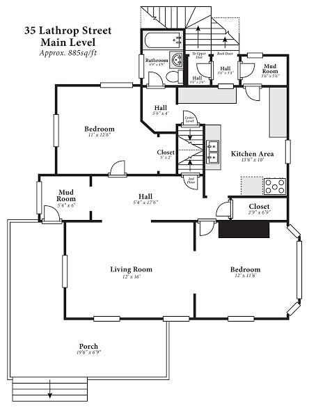 Studio 4+ Bathrooms House for rent at 35 Lathrop Street in Madison, WI