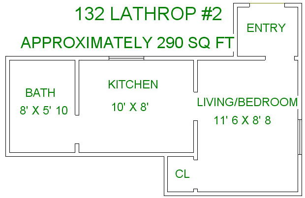 Studio 1 Bathroom House for rent at 132 Lathrop St in Madison, WI