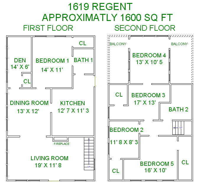 5 Bedrooms 2 Bathrooms House for rent at 1619 Regent St in Madison, WI