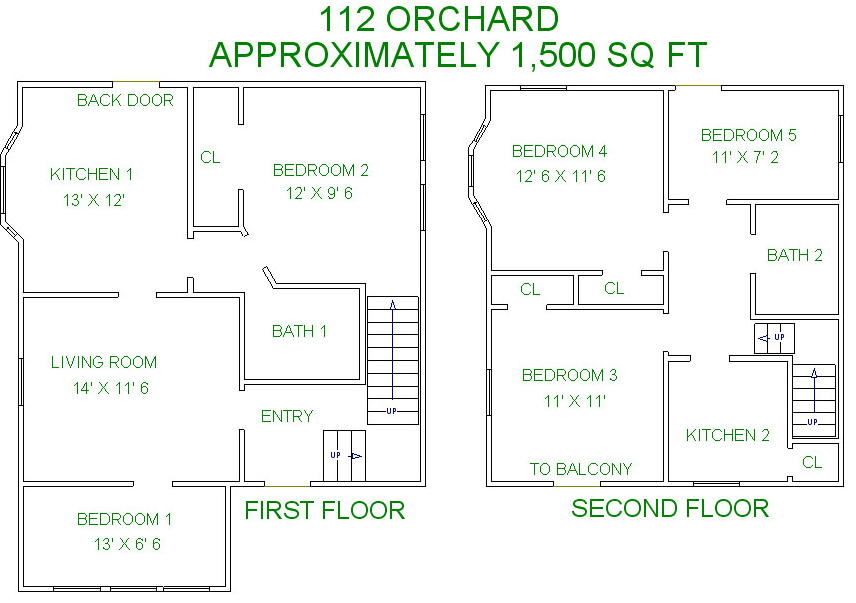 5 Bedrooms 2 Bathrooms House for rent at 112 S Orchard Street in Madison, WI