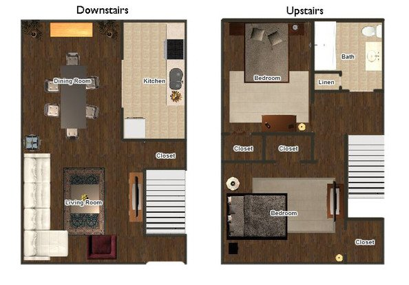 1 Bedroom 1 Bathroom Apartment for rent at Mimosa Gardens in Memphis, TN