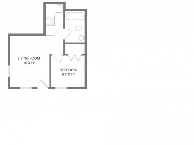 1 Bedroom 1 Bathroom Apartment for rent at 508 W White in Champaign, IL