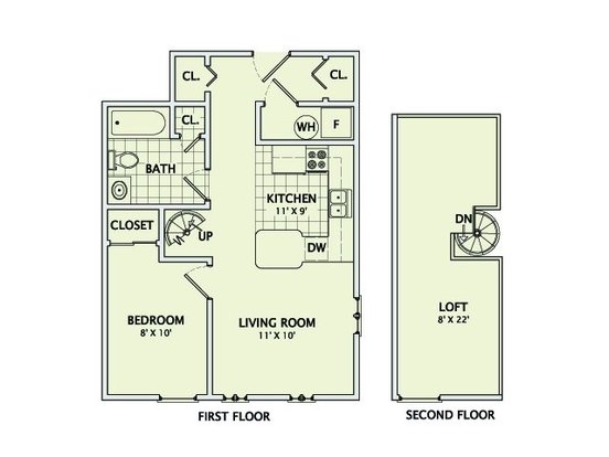 1 Bedroom 1 Bathroom Apartment for rent at Stonegate Village in Champaign, IL