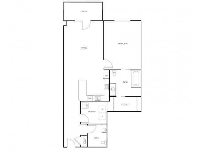 1 Bedroom 2 Bathrooms Apartment for rent at Midtown 360 in Orem, UT