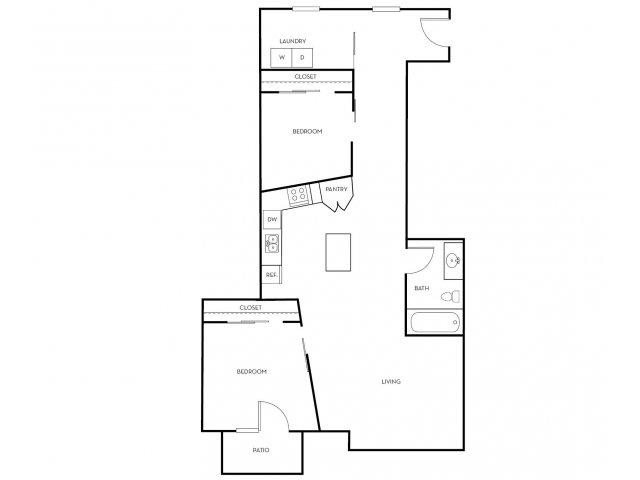 2 Bedrooms 1 Bathroom Apartment for rent at Midtown 360 in Orem, UT