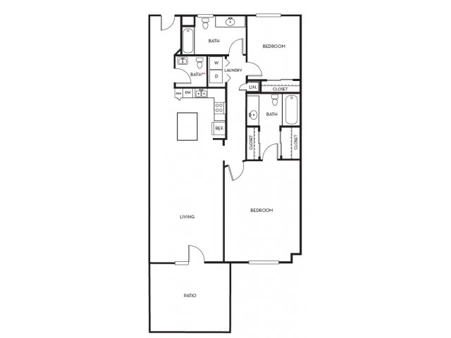 2 Bedrooms 2 Bathrooms Apartment for rent at Midtown 360 in Orem, UT