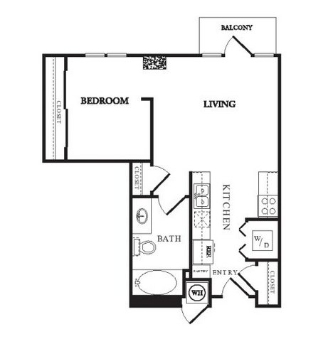 1 Bedroom 1 Bathroom Apartment for rent at Twentyone 01 On Market in Denver, CO