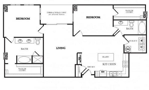 2 Bedrooms 3 Bathrooms Apartment for rent at Twentyone 01 On Market in Denver, CO