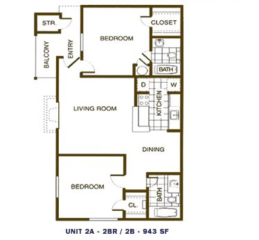 2 Bedrooms 2 Bathrooms Apartment for rent at Broadstone On Medical in San Antonio, TX