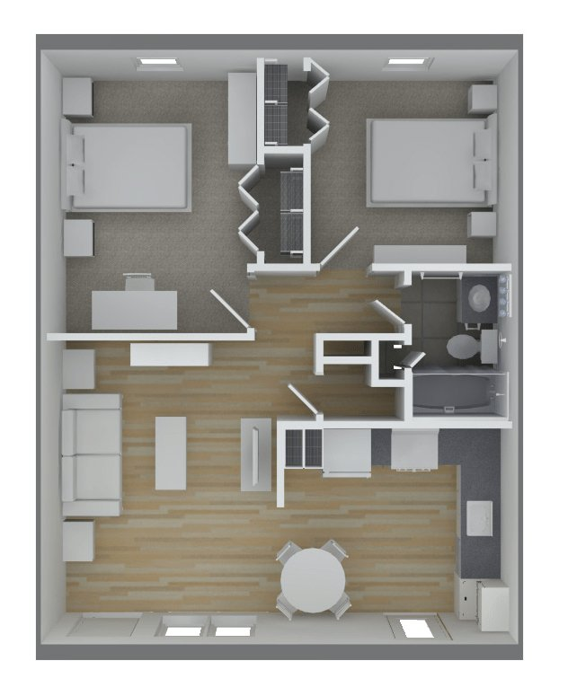Melrose Place Apartments Memphis, TN