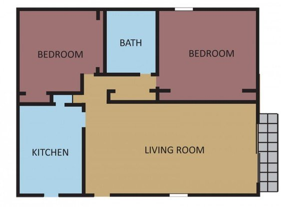 2 Bedrooms 1 Bathroom Apartment for rent at Southernwood in Memphis, TN