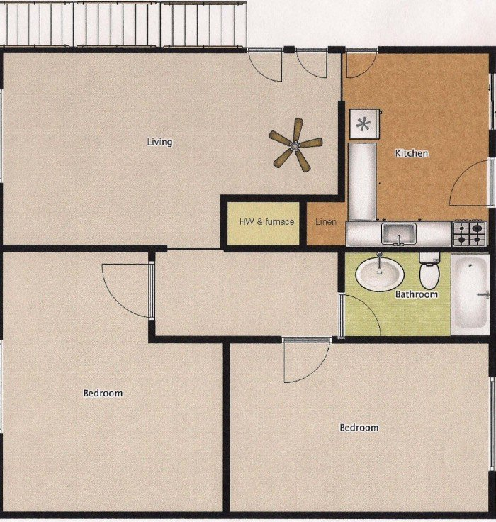 2 Bedrooms 1 Bathroom Apartment for rent at Mendenwood in Memphis, TN