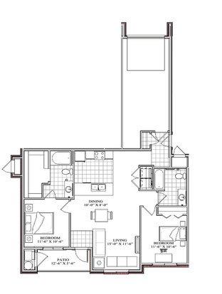 2 Bedrooms 2 Bathrooms Apartment for rent at 2550 South Main in Salt Lake City, UT