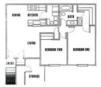2 Bedrooms 1 Bathroom Apartment for rent at Driftwood Park in Murray, UT