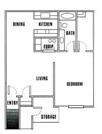 1 Bedroom 1 Bathroom Apartment for rent at Driftwood Park in Murray, UT