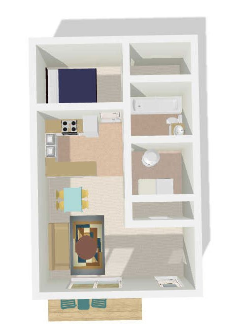 1 Bedroom 1 Bathroom Apartment for rent at Eastbrook in Salt Lake City, UT