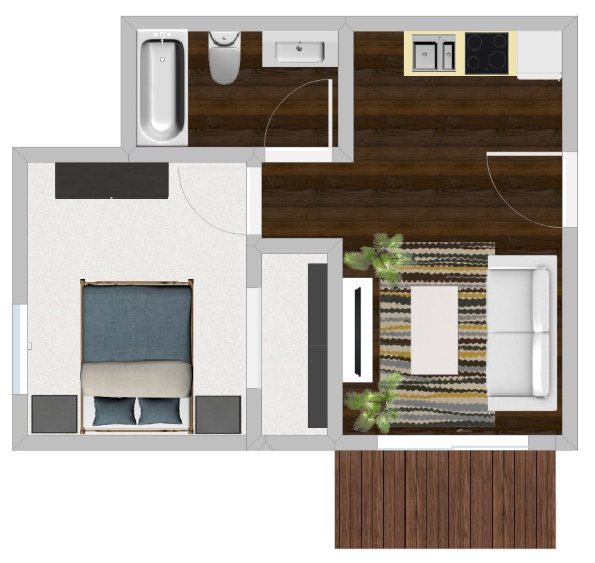 Studio 1 Bathroom Apartment for rent at Stratford At Lowry in Denver, CO