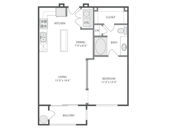 1 Bedroom 1 Bathroom Apartment for rent at Park Avenue in Denver, CO