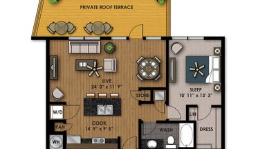 Similar Apartment at Riverfront Park