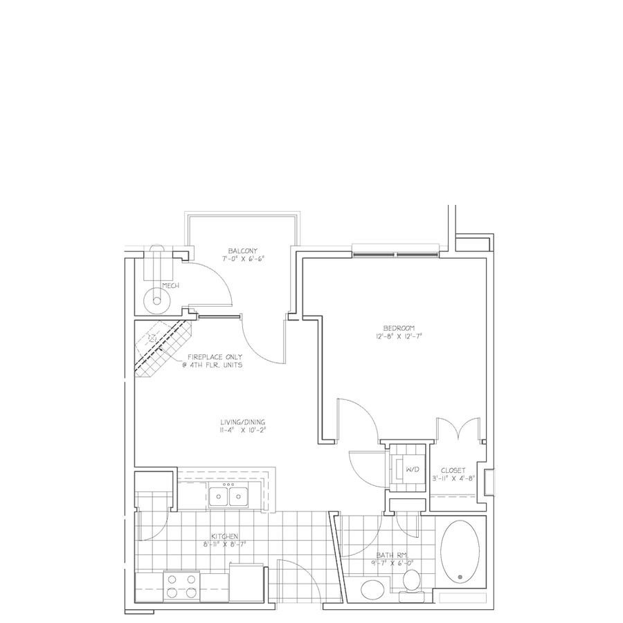 1 Bedroom 1 Bathroom Apartment for rent at Imt At City Park in Denver, CO
