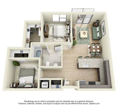 2 Bedrooms 1 Bathroom Apartment for rent at Line28 At Lohi in Denver, CO